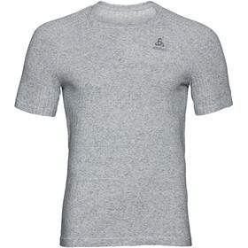 Odlo BL Millennium Linencoo PRO Koszulka do biegania z krótkim rękawem Mężczyźni, grey melange